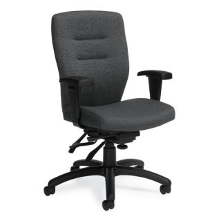 Synopsis Mid Back Multi Office Chair with Height Adjustable Arms