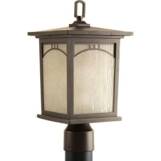 Progress Lighting Residence Collection 1 Light Antique Bronze Outdoor Post Lantern P6452 20