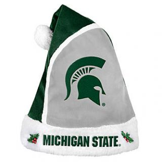 Forever Collectibles NCAA 2015 Michigan State Spartans Santa Hat