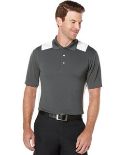 PGA TOUR Big & Tall Airflux Colorblocked Performance Golf Polo   Polos