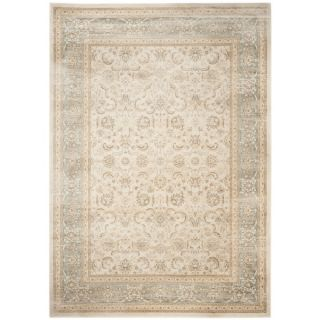 Safavieh Vintage Ivory/ Light Blue Rug (67 x 92)