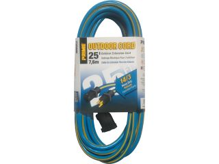 Prime Wire Model KC506725 25 ft. Kaleidoscope Heavy Duty Outdoor Extension Cord