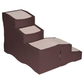 Pet Gear Easy Step Bed Stair   Chocolate