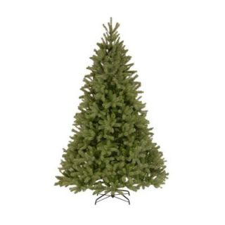 National Tree Company 7.5 ft. Unlit FEEL REAL Downswept Douglas Fir Hinged Artificial Christmas Tree PEDD4 502 75