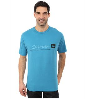 Quiksilver Waterman Standard QMT0 Premium Cotton Screen Tee Celestial