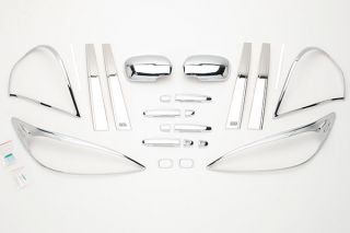 2003 2006 Toyota Camry Chrome Kits & Packages   Putco 405064   Putco Complete Chrome Accessory Package