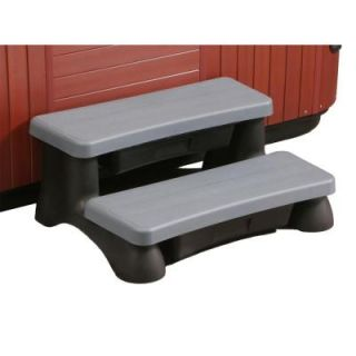 Swim Time Spa Step   Dark Gray/Black DISCONTINUED NP5504
