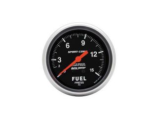 Auto Meter Sport Comp Mechanical Fuel Pressure Gauge