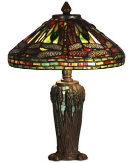 Dale Tiffany Dragonfly Jewel Metal & Glass Table Lamp   Lighting