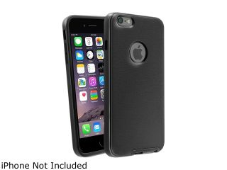 Insten Black/Black TPU Rubber Bumper Case For Apple iPhone 6 Plus (5.5 inch) 1950929