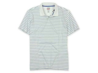IZOD Mens Perform X Striped Rugby Polo Shirt 508 M