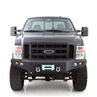 Smittybilt   M1 Ford Superduty Truck Front Bumper, Black   Fits 2008 to 2010 Ford Superduty F250 & F350