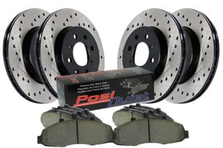 2002, 2003, 2004 Toyota Camry Performance Brake Kits   StopTech 936.44056   StopTech Drilled Street Brake Kit