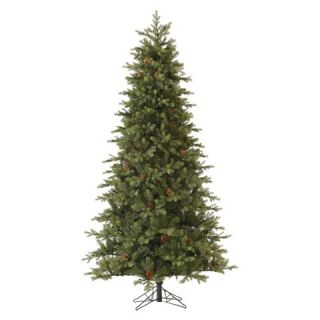ft. Unlit Rocky Mountain Fir Slim Artificial Christmas Tree