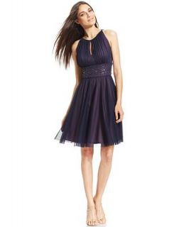 Jessica Howard Beaded Pleat Dress   Dresses   Women