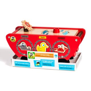 PBS KIDS Wooden Toy Boat Shape Sorter   17181116