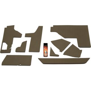K & M Pre-Cut Cab Foam Kit — For John Deere Tractors, Model# 4090  Tractor Cab Foam Interiors