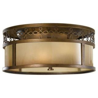 Feiss Justine 3 Light Astral Bronze Indoor Flushmount FM337ASTB
