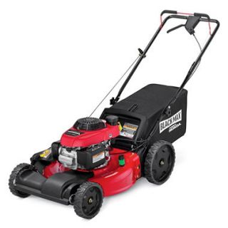 Black Max 21 160cc Front Wheel Drive Mower Powered by Honda