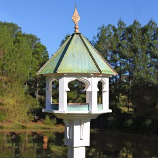 Heartwood Carousel Cafe Copper/PVC Squirrel Resistant Platform Bird Feeder