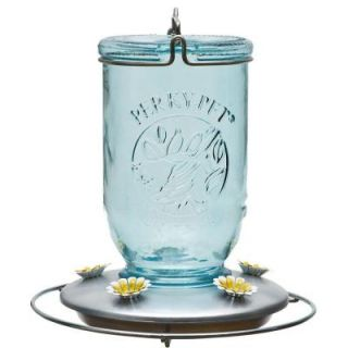 Perky Pet Mason Jar Humming Bird Feeder 785