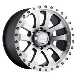 Pro Comp Alloy Wheels   Series 3036 Helldorado, 17x9 with 5on5 Bolt Pattern   Machined Polished