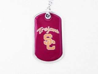 University of Southern California Trojans Dog Fan Tag Necklace   NCAA