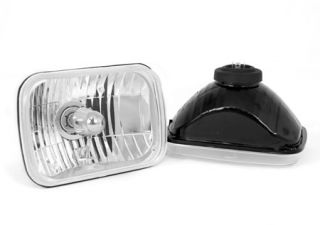 1987 1995 Jeep Wrangler Headlights   Rugged Ridge 12402.82   Rugged Ridge Crystal Headlights