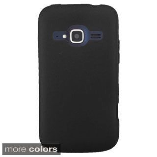 INSTEN TPU Rubber Candy Skin Phone Case Cover For ZTE Concord II Z730