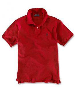 Ralph Lauren Kids Shirt, Boys and Little Boys Solid Polo Shirt   Kids