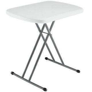 Lifetime 26 Personal Table, White Granite