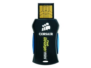 CORSAIR Voyager Mini 4GB USB 2.0 Flash Drive Model CMFUSBMINI 4GB