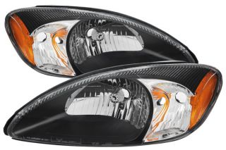 2000 2007 Ford Taurus Headlights   Spyder HD JH FTA00 AM BK   Spyder Headlights