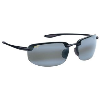 Maui Jim Hookipa Sunglasses   Gloss Black Frame with Neutral Grey Lens