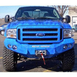 Road Armor Stealth Base Front Bumper 2005 2007 Ford Super Duty