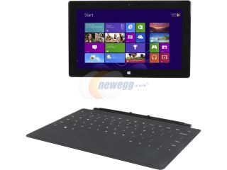 "Open Box Microsoft Surface RT 9HR 00001 NVIDIA Tegra 3 2 GB Memory 32GB SSD 10.6"" Touchscreen Tablet Microsoft Windows RT"
