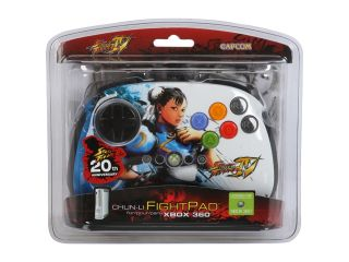 Mad Catz Official Street Fighter IV FightPad for Xbox 360   Chun Li