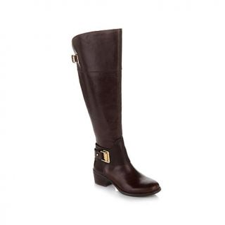 "Vince Camuto ""Basira"" Over the Knee Leather Boot   Wide Shaft   7782420"