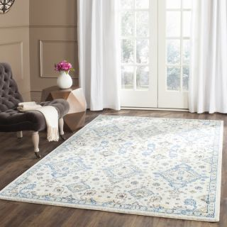 Safavieh Evoke Ivory/ Light Blue Rug (8 x 10)   Shopping