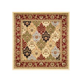 Safavieh Lyndhurst Square Multicolor Woven Area Rug (Common 8 ft x 8 ft; Actual 8 ft x 8 ft)