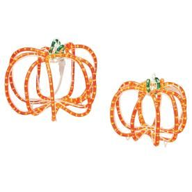 Roman Lights 286 Count Orange Pumpkin Halloween String Lights