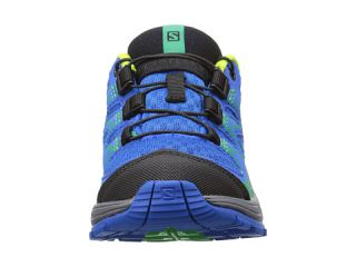 Salomon Kids Wings (Toddler/Little Kid) Union Blue/Dark Cloud/Granny Green