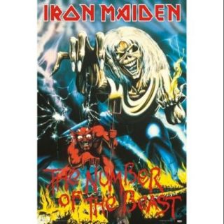 Iron Maiden   The Number Of The Beast Poster Print (24 X 36)