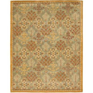 Safavieh Antiquity Light Blue/Gold 9 ft. x 12 ft. Area Rug AT613A 912