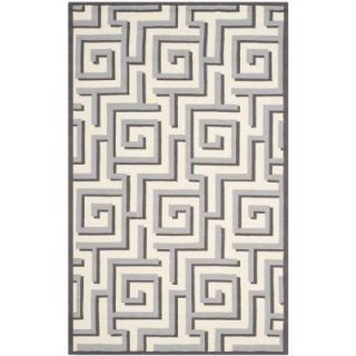 Safavieh Four Seasons Ivory/Grey 5 ft. x 8 ft. Area Rug FRS240M 5