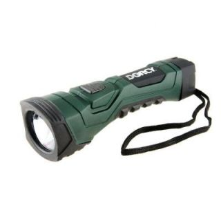 Dorcy Cyber Light Weather Resistant LED Flashlight with Nylon Lanyard and True Spot Reflector 41 4751