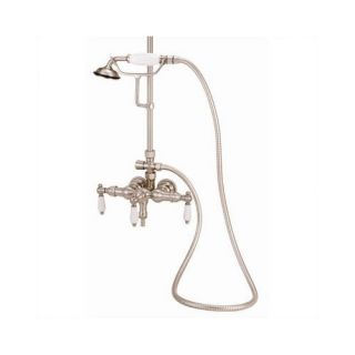 Elizabethan Classics Wall Mount Volume Control Tub and Shower Faucet