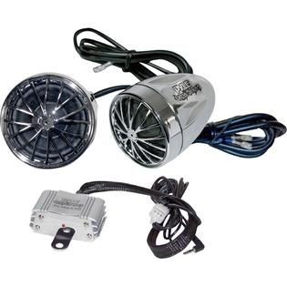 Pyle Motorcycle Mount 400 Watt Sound System With Dual Speakers