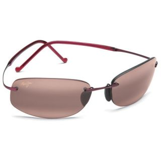 Maui Jim Honolua Bay Sunglasses   Burgundy Frame/Maui Rose Lens