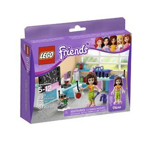 LEGO  Friends Olivias Invention Workshop 3933
